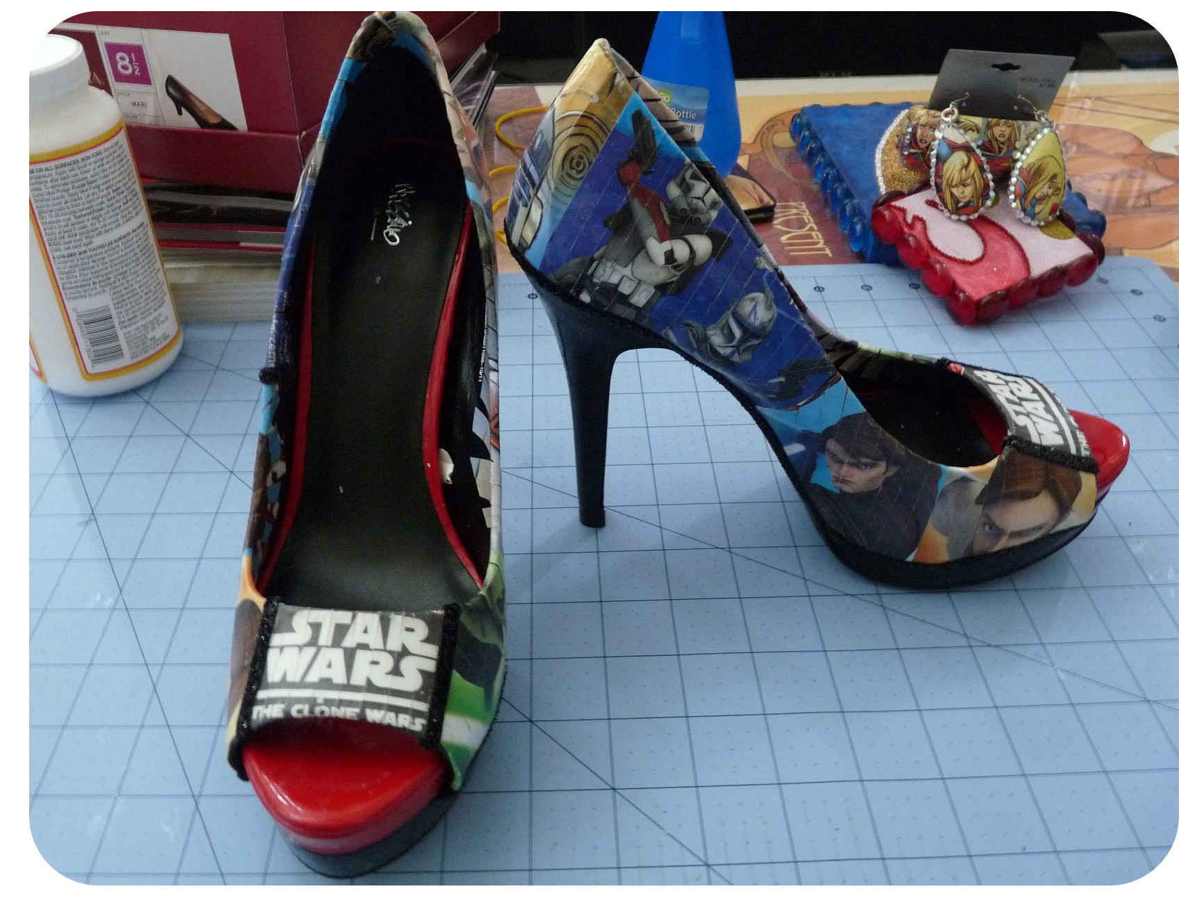 b9931398c3cf DIY Friday  May the 4th Be With You…and With Shoes « Set to Stunning