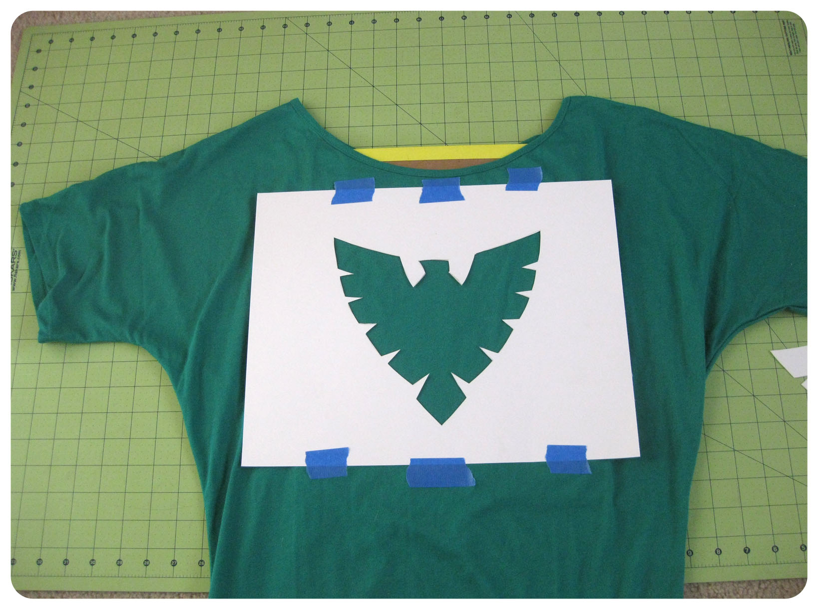 Diy friday paint your way to geeky style set to stunning for How to paint on t shirt