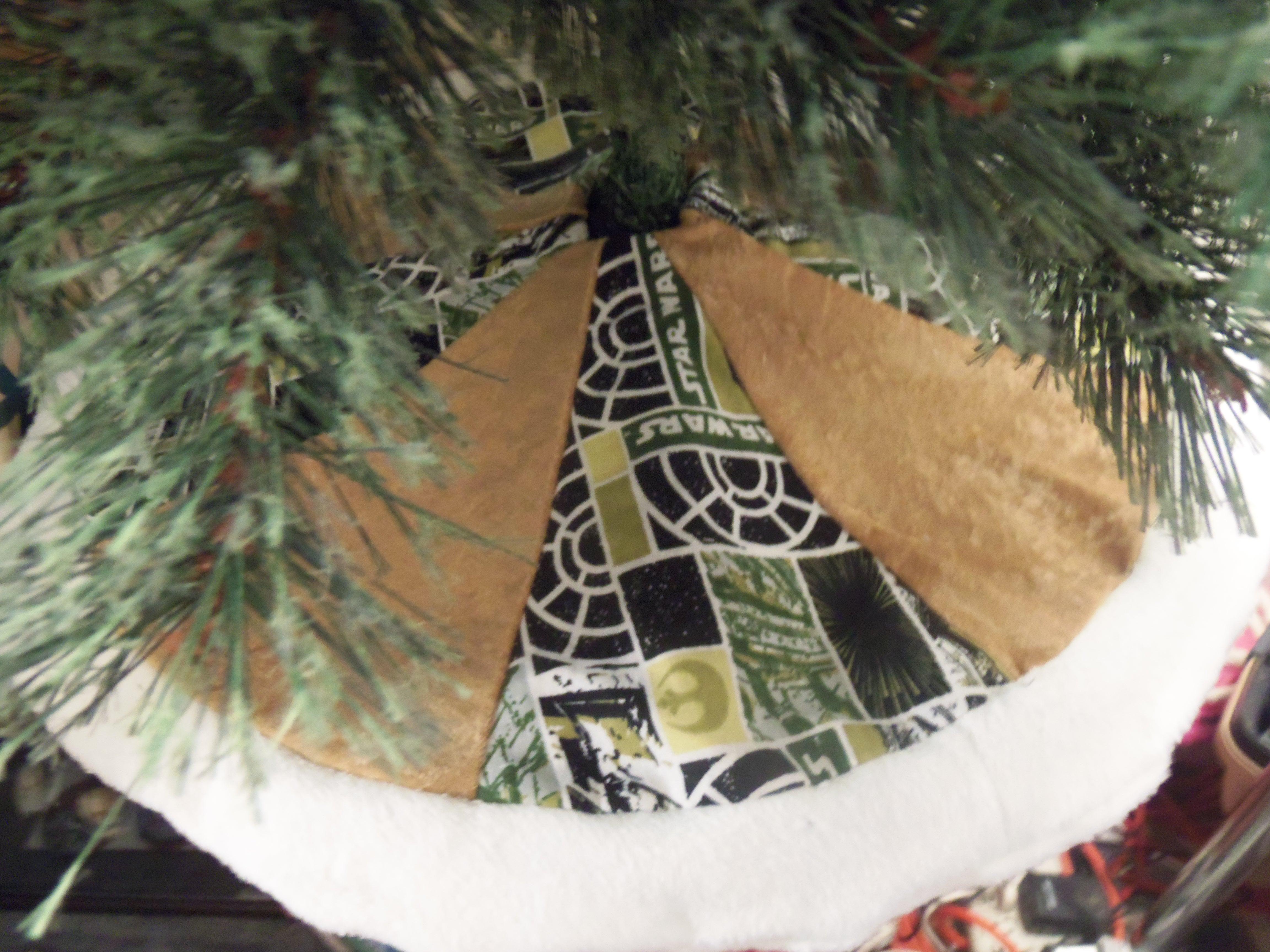 Winter wonderland christmas tree skirt saw it loved it made it