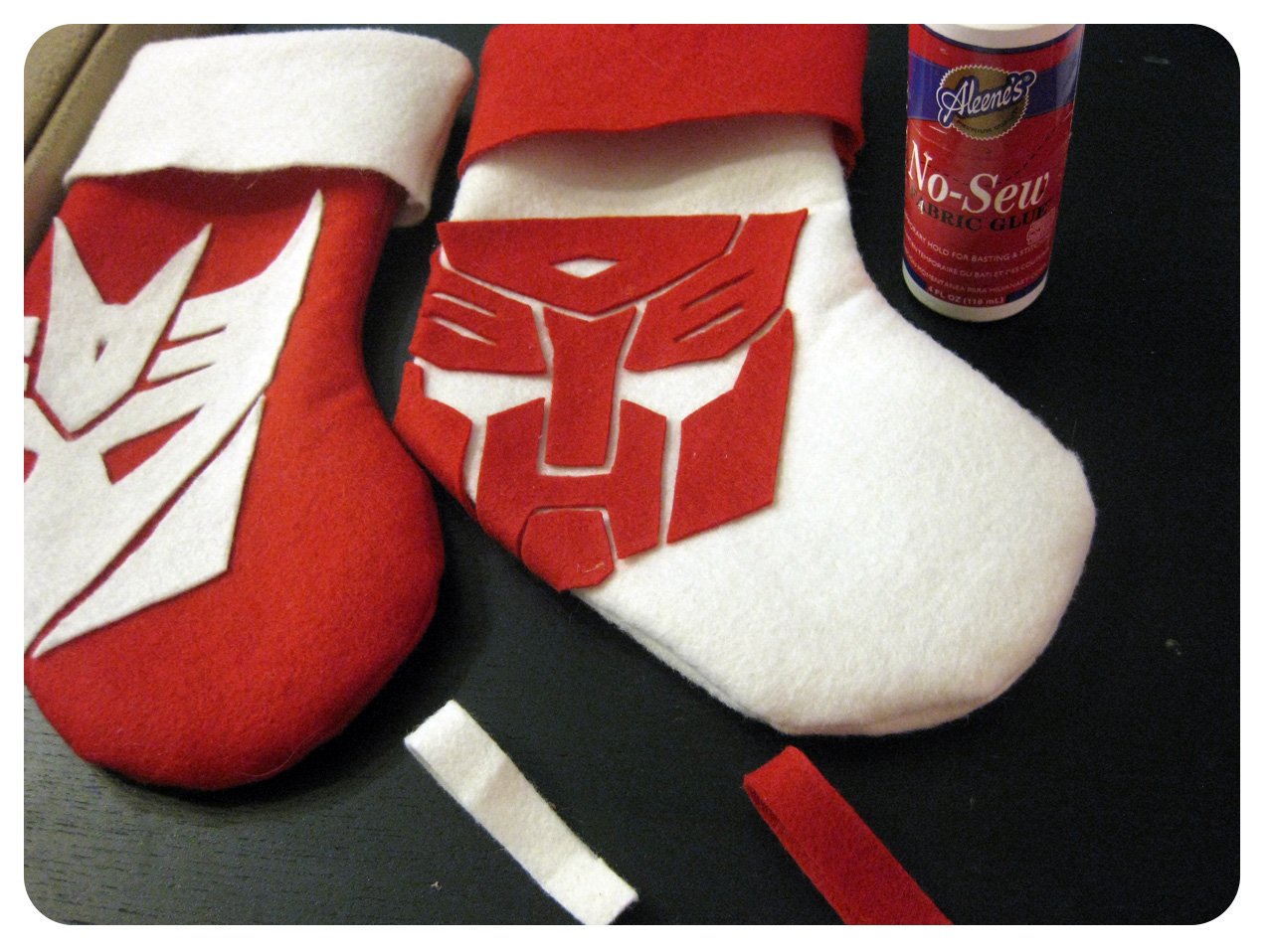 DIY Friday: Geeky Christmas Stocking « Set to Stunning
