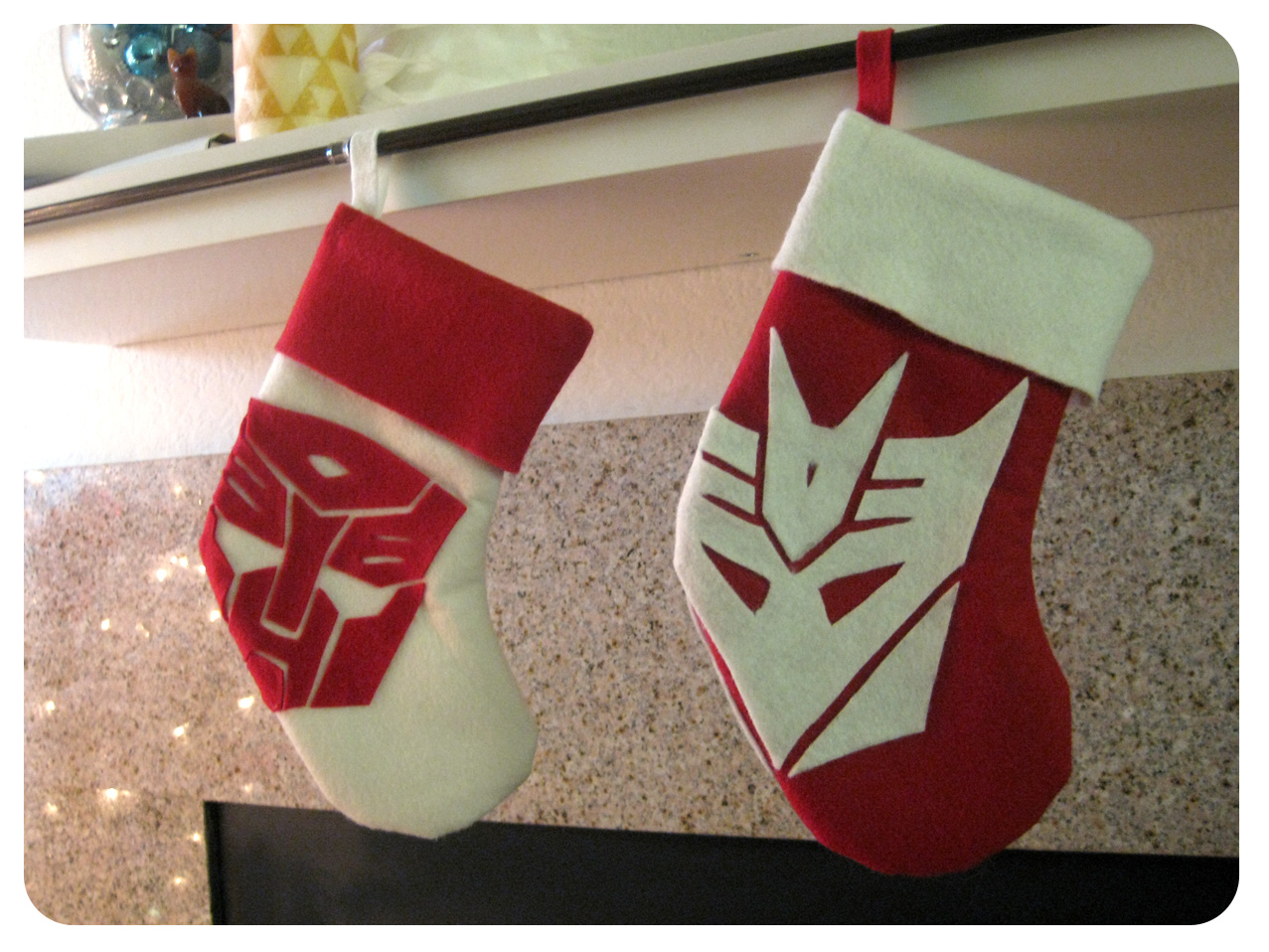 awesome diy friday geeky christmas stocking set to stunning with homemade christmas stockings - Christmas Stocking Design Ideas