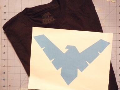 DIY Nightwing Supplies