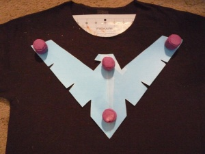 Nightwing DIY Step 2a