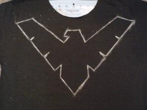 Nightwing DIY Step 2b