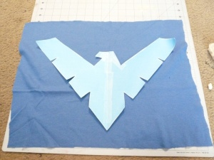 Nightwing DIY Step 5a
