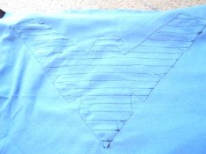 Nightwing DIY Step 8a