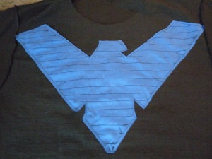 Nightwing DIY Step 8b