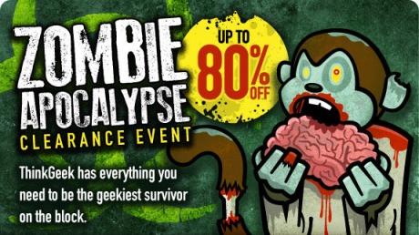 ThinkGeek Zombie Clearance