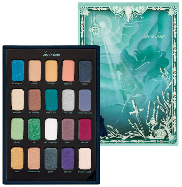 preview sephora�s little mermaid makeup collection 171 set