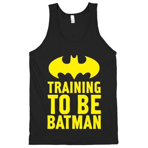 Batman workout gear
