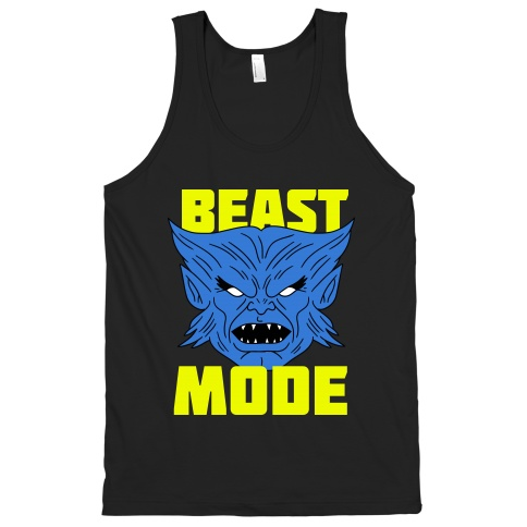 Superhero in training geek workout gear set to stunning for Beast mode shirt under armour