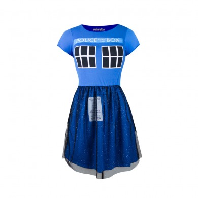 tardis-fit-flare-tulle-dress