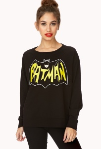 forever21batsweater