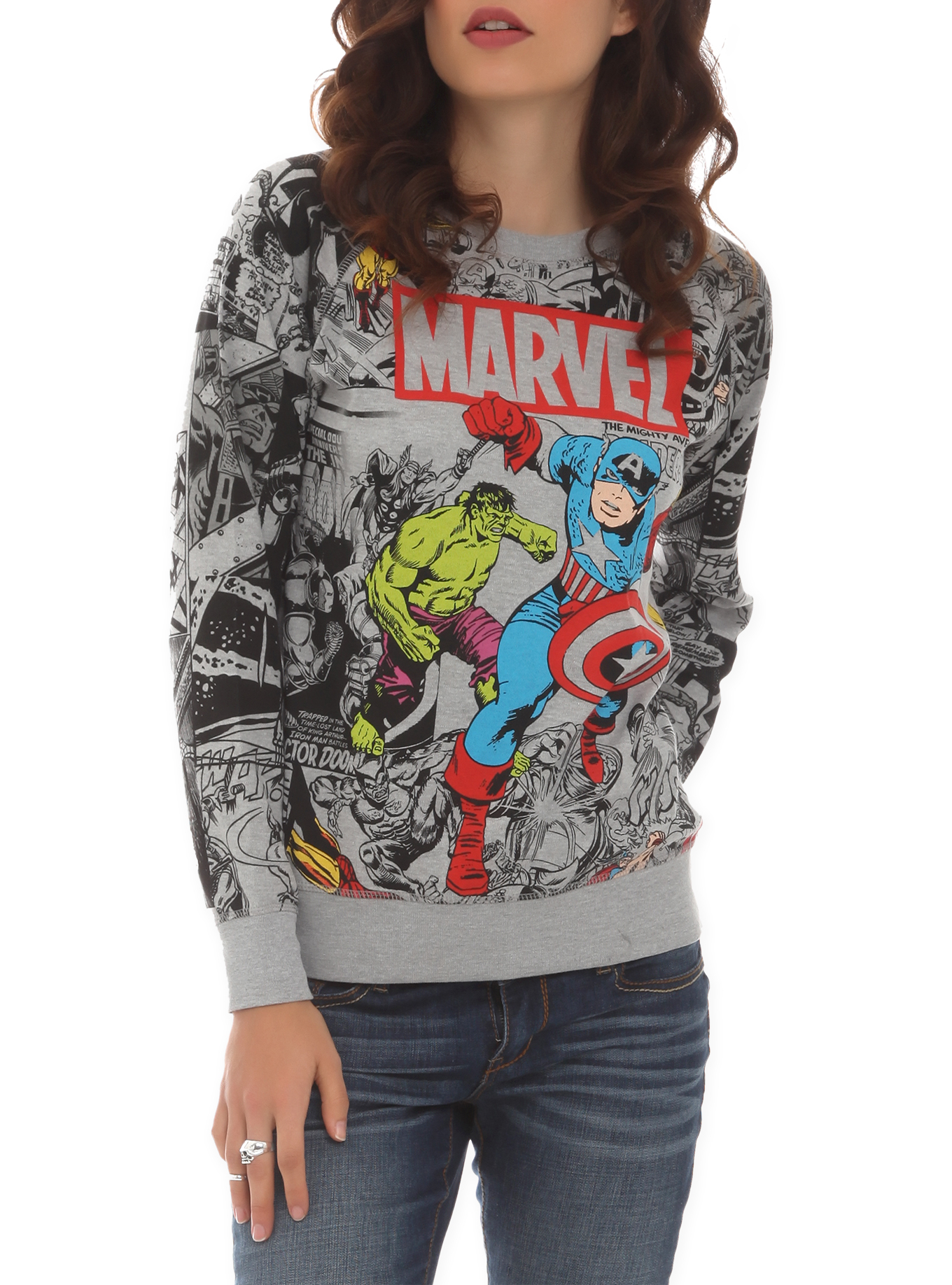 Marvel Heroes Womens Clothing