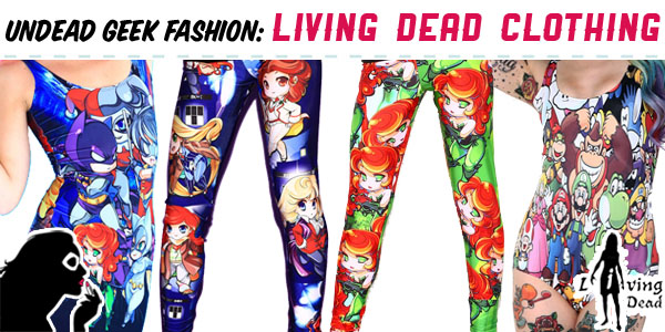 7c9f5a4c3cda2 Australia is home to not one, but two, awesome clothing companies ready to  dress the geeks of the world! Launched in 2012, Living Dead Clothing is one  of ...