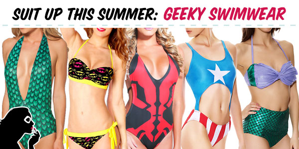 b018556f5fb35 Suit Up This Summer in Geeky Swimwear « Set to Stunning