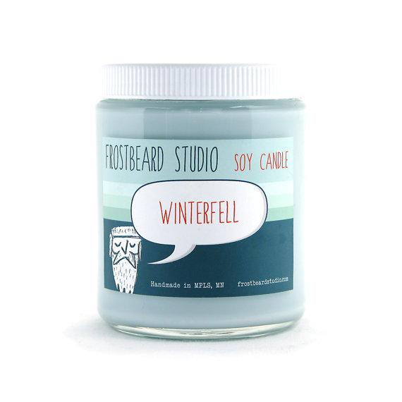 FrostbeardWinterfellcandle