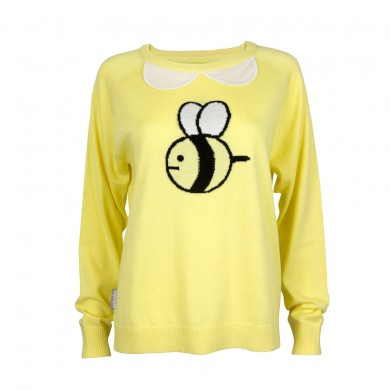 cashmere-collar-bee-sweater