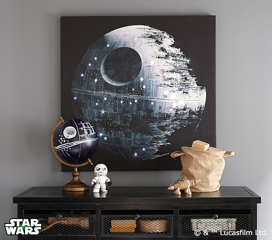 Charming Death Star LED Canvas Artwork ·  13a8_exclusive_10th_doctor_sonic_screwdriver_remote