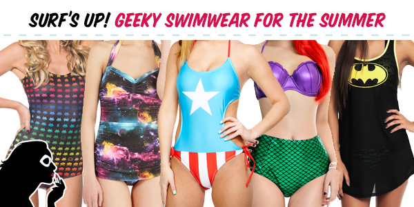 152f3d3dd8cc6 Surf s Up With These Geeky Swimsuits
